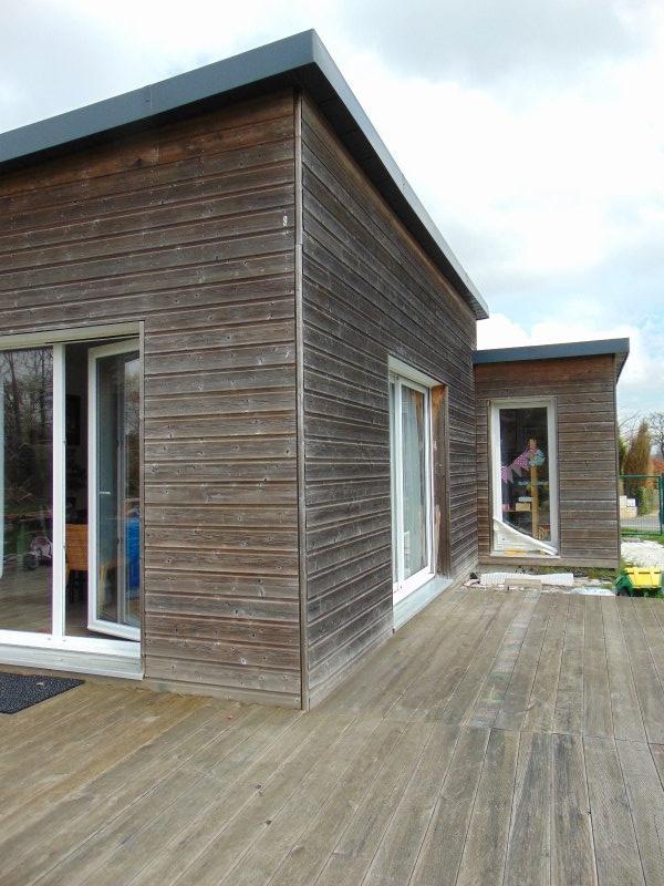 vente maison en ossature bois plain pied nouvelle demeure. Black Bedroom Furniture Sets. Home Design Ideas